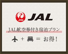 JAL航空券付き宿泊プラン