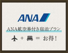 ANA航空券付き宿泊プラン